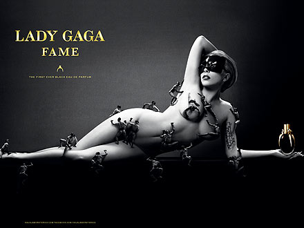 Lady Gaga Fragrance Campaign
