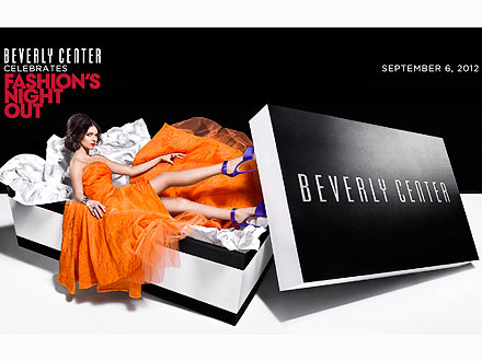 Teen model Jenner is the face of the Beverly Center's Fashion's Night Out ...