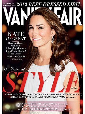Kate Middleton Vanity Fair