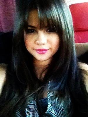 Selena Gomez Bangs