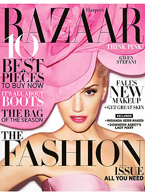 Gwen Stefani Harper's Bazaar