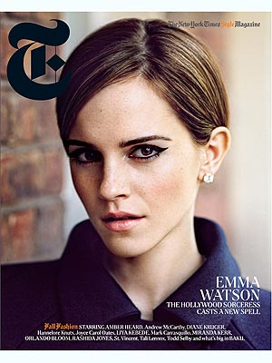 emma watson 2 300x400 How Fashion Helps Emma Watson Separate Herself from Hermione
