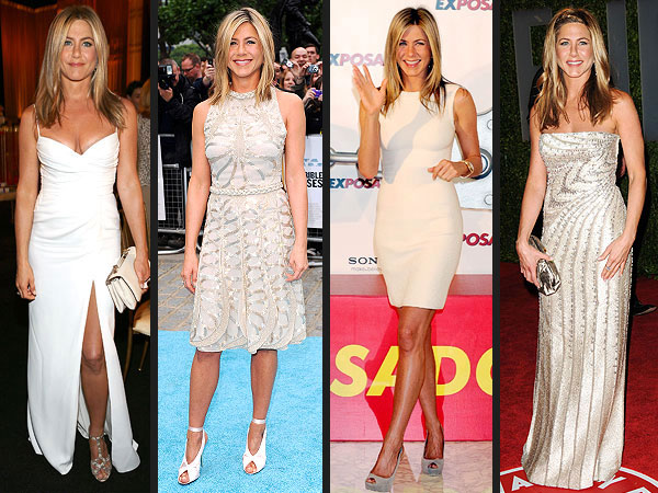 Jennifer Aniston Wedding Dresses