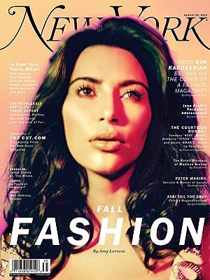 Kim Kardashian NY Mag Cover