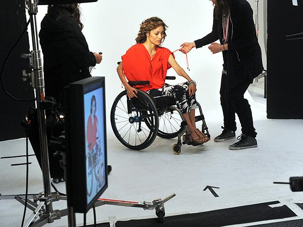 angela rockwood 600x450 Quadriplegic Beats the Odds — and Lands Major Modeling Campaign
