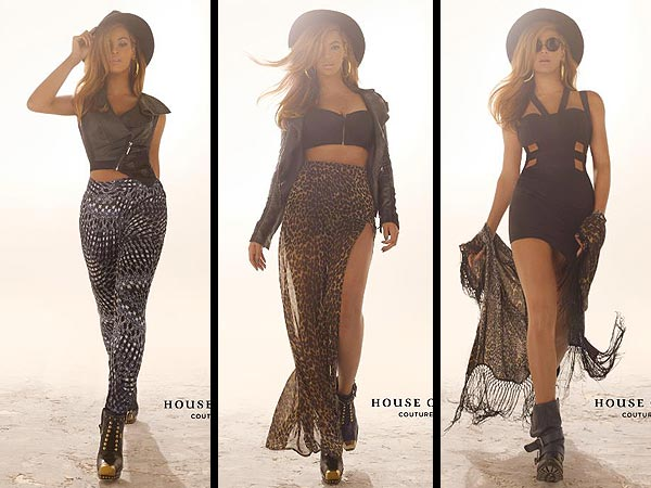 beyonce 600x450 Beyoncé Is Crazy Cool in House of Deréon Campaign