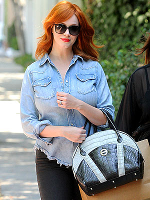 Christina Hendricks Purse