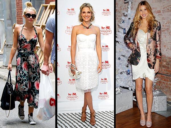 Miley Cyrus, Ali Larter, Whitney Port