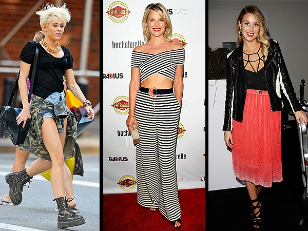 miley cyrus 600x450 So About Thursday's Questionable Fashion Choices …