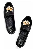 Tory Burch fox loafers