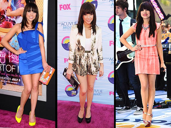carly rae jepsen 600x450 A Farewell to the Song of Summer … and Its Singer's Summer Style
