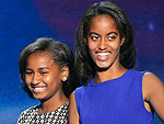 See Malia and Sasha Obama's DNC Style | Malia Obama, Sasha Obama