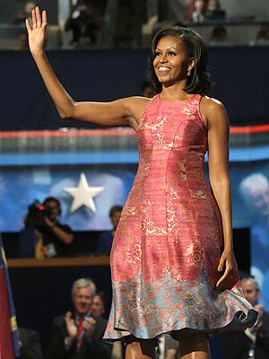 Michelle Obama Dress DNC