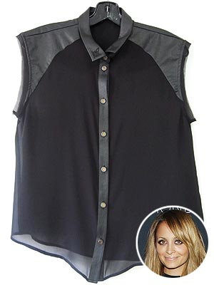 nicole richie 300x400 Twitter Followers: Win an Autographed Nicole Richie for Macy's Impulse Blouse!