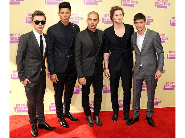 The Wanted at the 2012 MTV VMAs width=