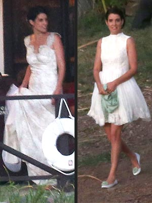 Cobie Smulders Wedding Dresses