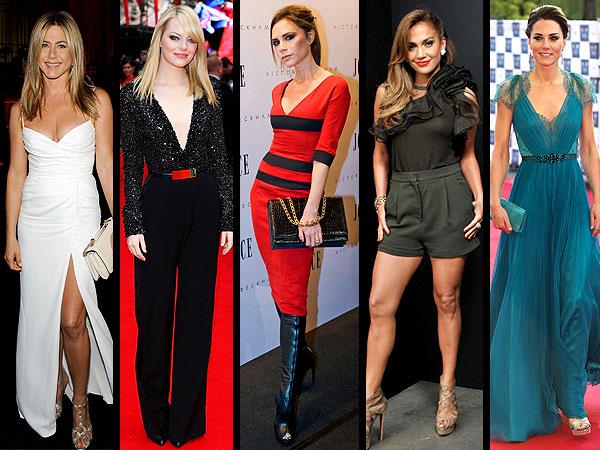 Best-Dressed Stars 2012
