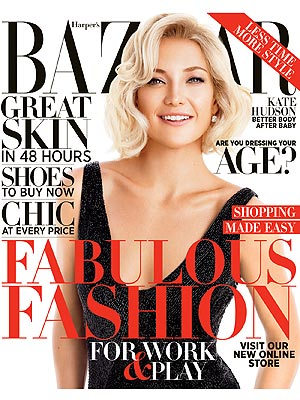 Kate Hudson Harper's Bazaar