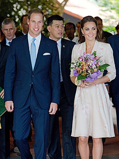 Prince William and Kate Arrive in Singapore | Kate Middleton, Prince William