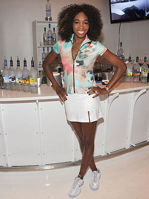 venus william 300x400 Venus Williams Scores at New York Fashion Week