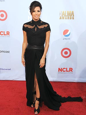 Eva Longoria ALMAs Dress