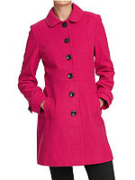 Pink Old Navy Pea Coat