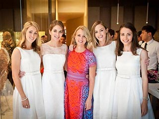 See Felicity Blunt's Wedding Gown!