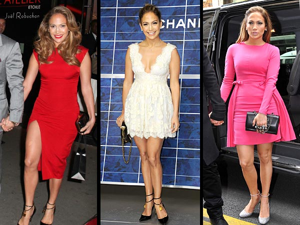 Jennifer Lopez Paris Fashion Week