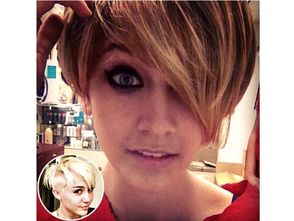 Paris Jackson, Miley Cyrus