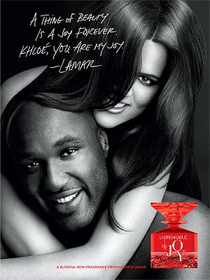Khloe Kardashian, Lamar Odom Fragrance