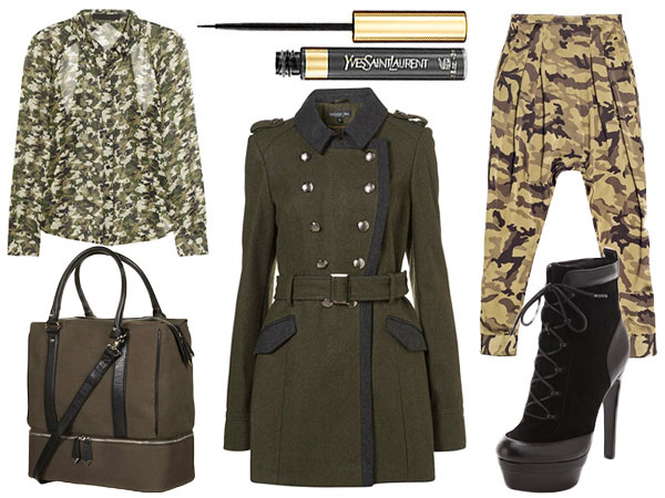 Military-Inspired Looks