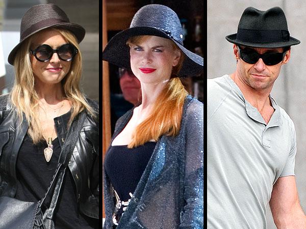 Rachel Zoe, Nicole Kidman, Hugh Jackman