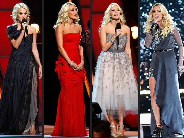 Carrie Underwood CMAs 2012