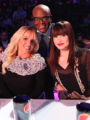 Demi Lovato Brunette Hair X Factor