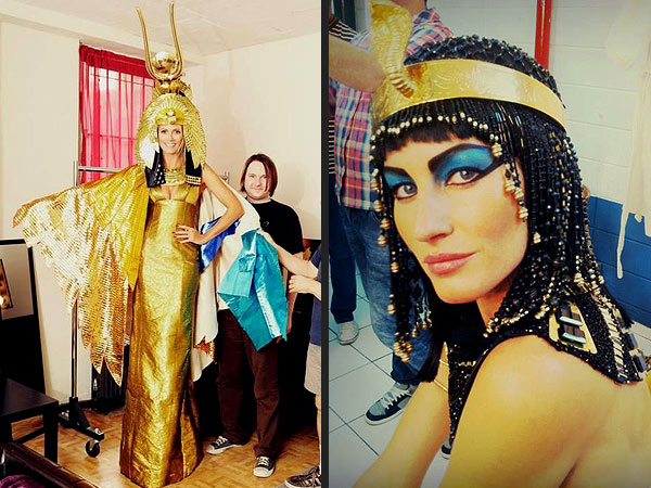 Heidi Klum, Gisele as Cleopatra