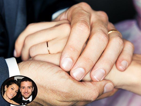 Justin Timberlake, Jessica Biel Wedding Rings