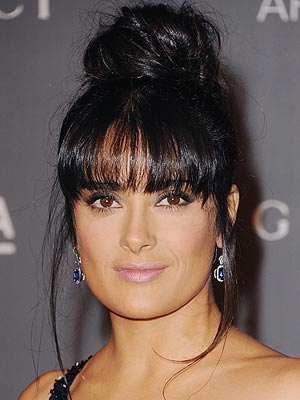 Salma Hayek $1 Million Earrings