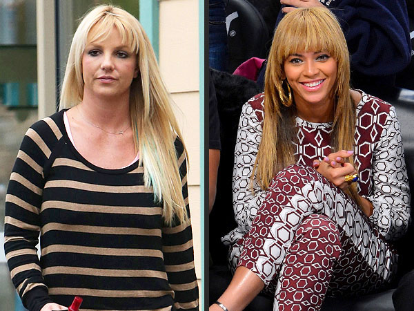 Britney Spears, Beyonce Bangs