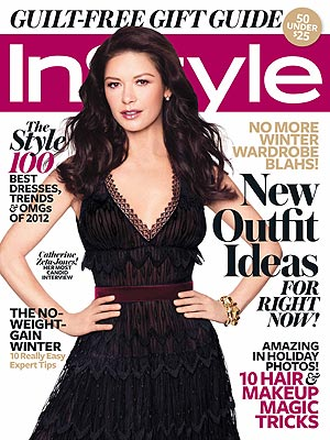 Catherine Zeta Jones InStyle