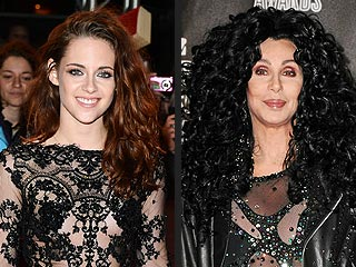 Kristen Stewart vs. Cher: Who Rocks a Sheer Bodysuit Best?