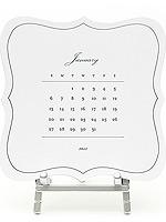 Sugar Paper Calendar