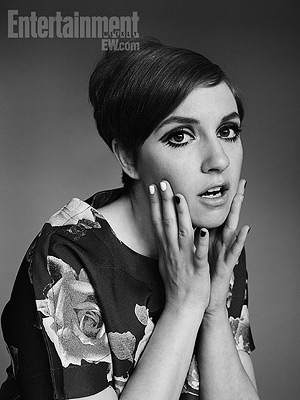 Lena Dunham as Twiggy