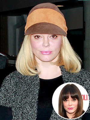 rose mcgowan 300x400 Who's the Newest Blonde in Hollywood?