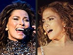 Shania Twain & Jennifer Lopez: Looking Bangin' in Bodysuits