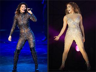 Shania Twain & Jennifer Lopez: Looking Bangin' in Bodysuits