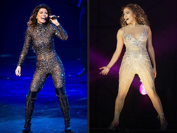 Shania Twain, Jennifer Lopez