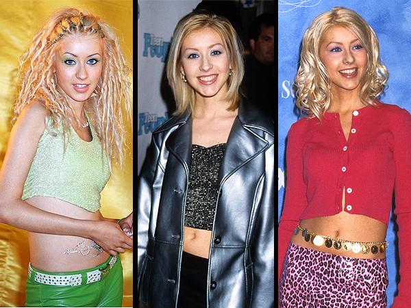 Christina Aguilera Flashback