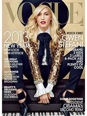 Gwen Stefani Vogue Cover
