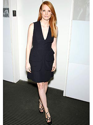 jessica chastain 300x400 This Week's Best Dressed Star: Jessica Chastain