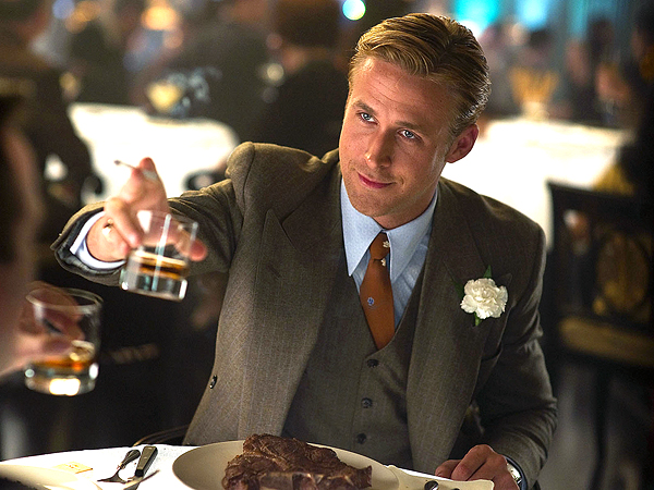 ryan gosling 600x450 What Irritated Ryan Gosling on the 'Gangster Squad' Set?